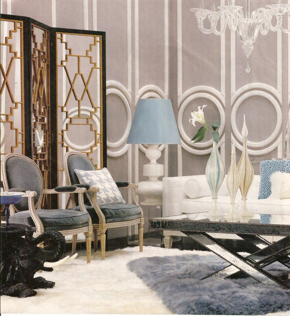 Hollywood Glam Living Room Ideas Of Maryott Custom Interiors Page 2