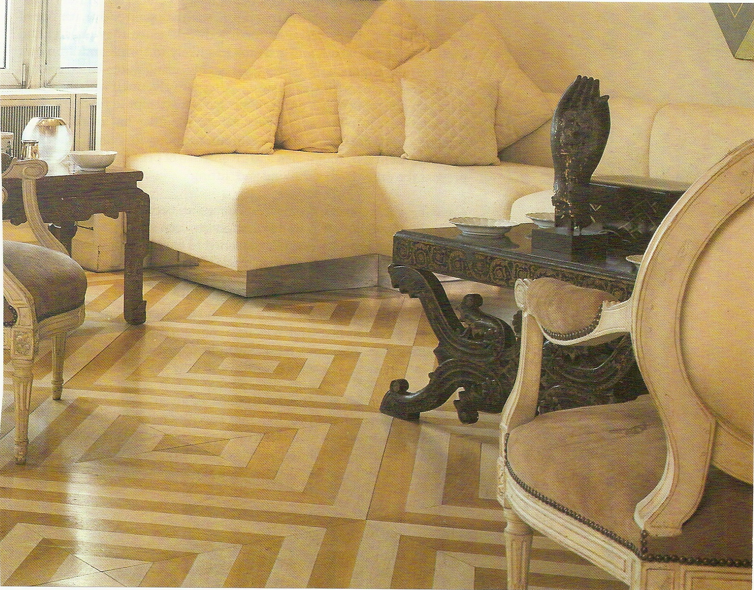 diy how to paint and lacquer a wood floor with annie sloan s