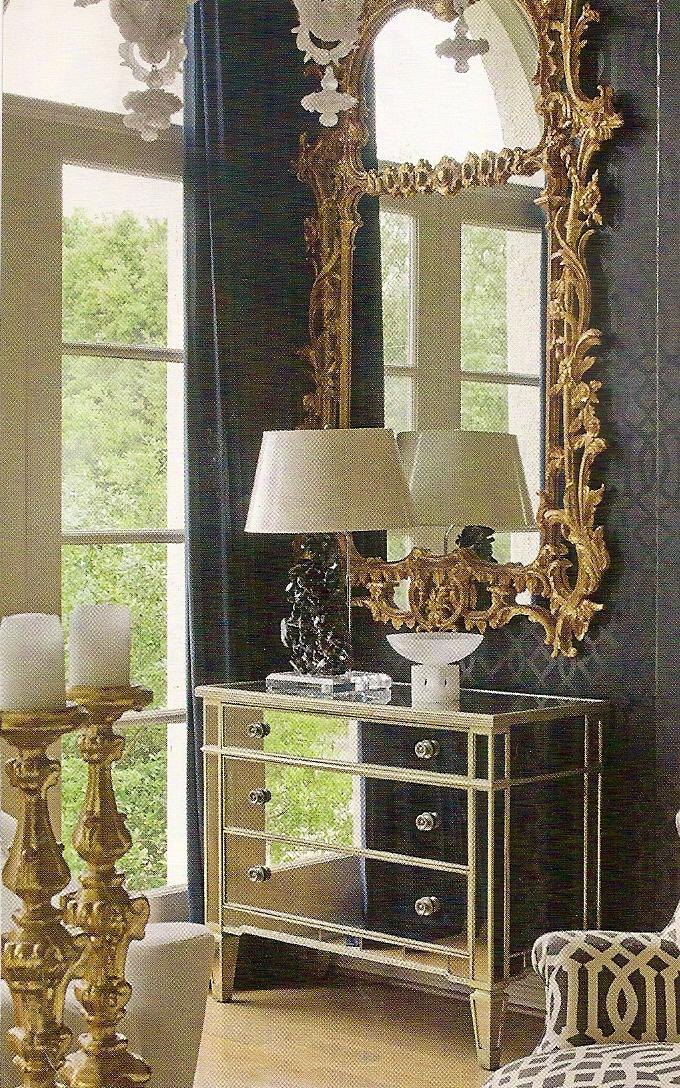 Hollywood Regency Design Maryott Custom Interiors